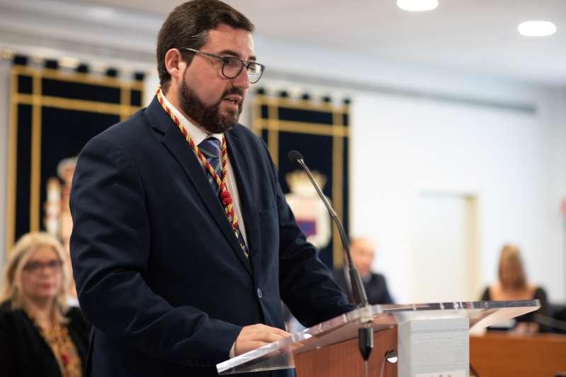 Leandro Benito, alcalde de Canet.