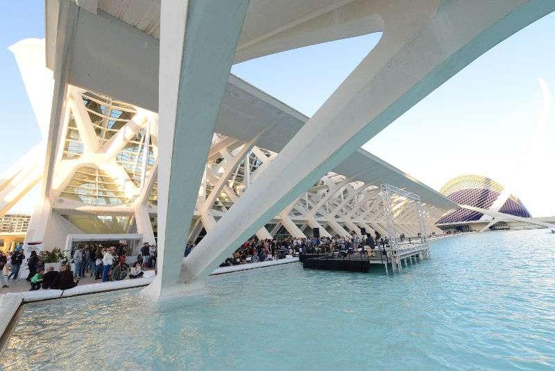 La Ciudad de Las Artes i Las Ciencias de Valencia