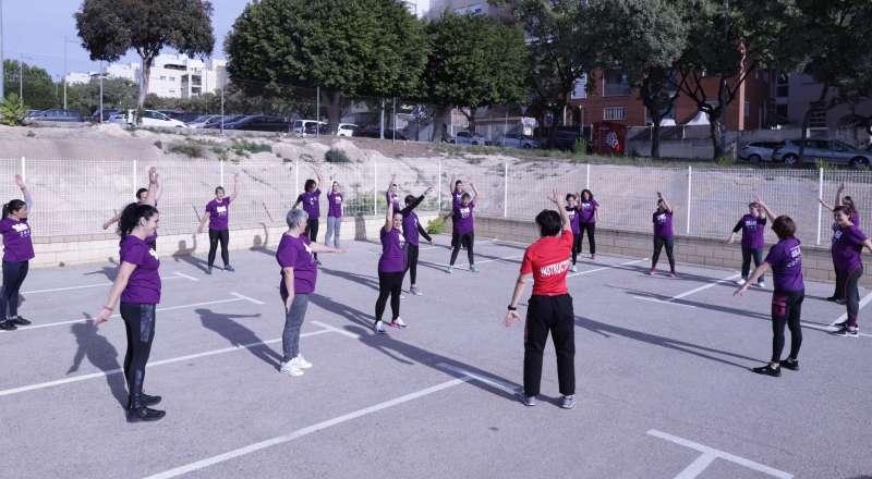 Taller de Autodefensa para Mujeres. EPDA