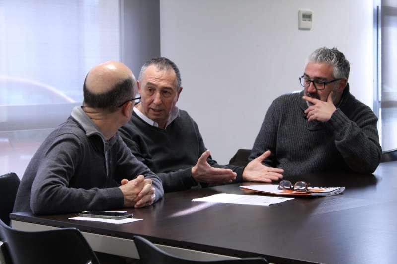 Visita de Baldoví a Asivalco en Paterna. EPDA