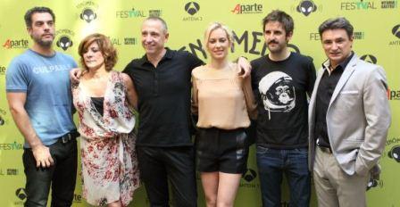 Los protagonistas de Fenómenos. FOTO QUINTAS/FESTVAL