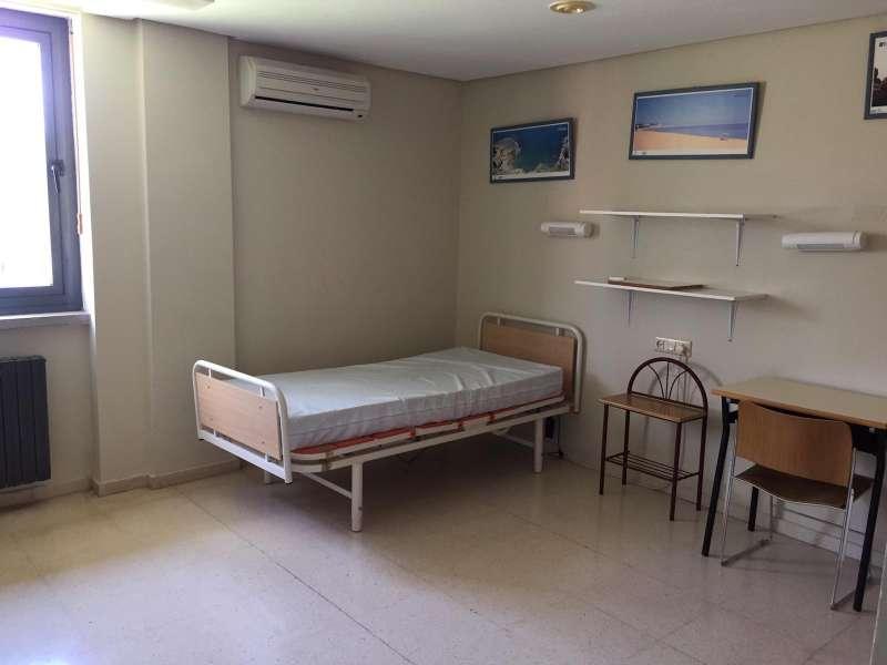 Una de las habitaciones del centro de Bétera. EPDA
