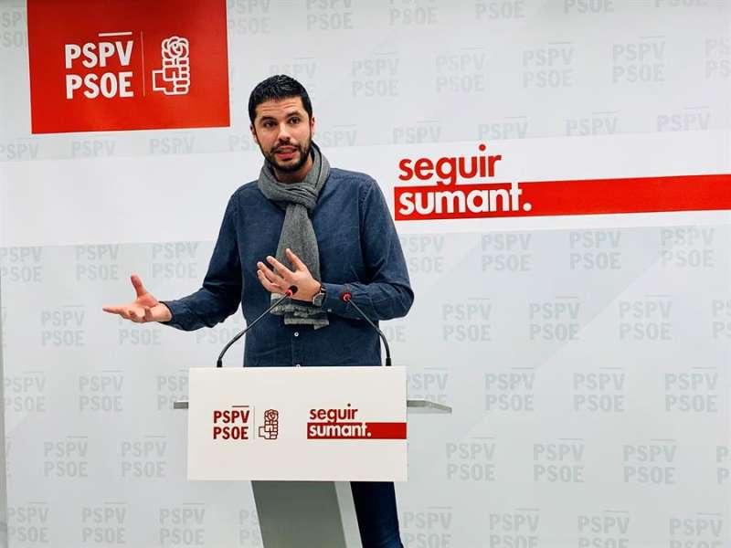 El diputado socialista en Les Corts David Calvo.