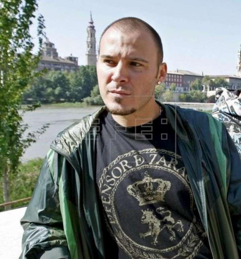 Componente del grupo de rap Violadores del Verso David Gilaberte, conocido por el apodo de