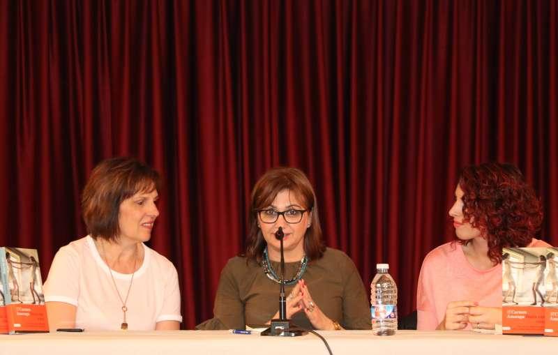 Presentación libro Carmen Amoraga