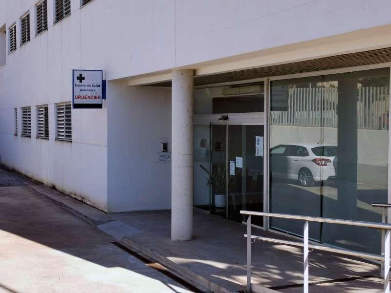 Un centro de salud de Almenara