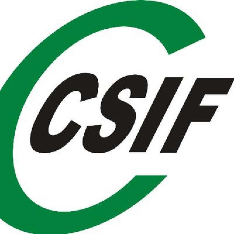 Logo del sindicato CSIF.- EPDA