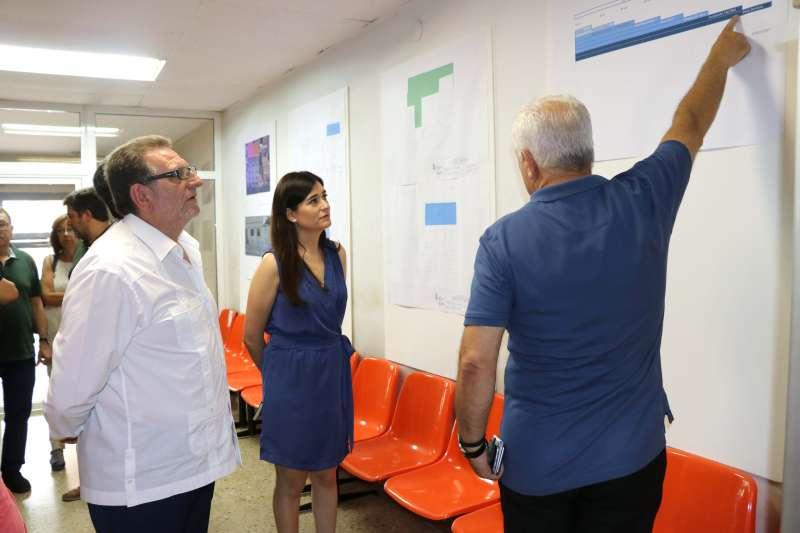 Visita consellera Sanitat Carmen Montón a la localidad de Torrent.