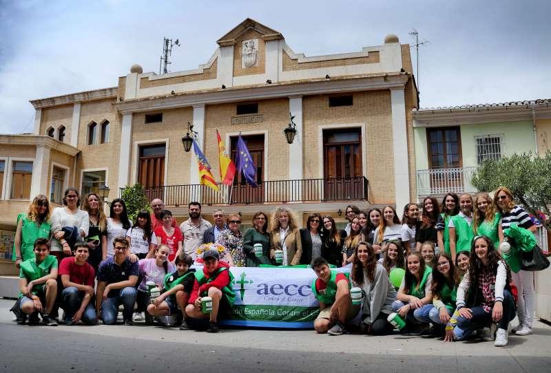 Cuestación del cáncer en Alboraya. EPDA
