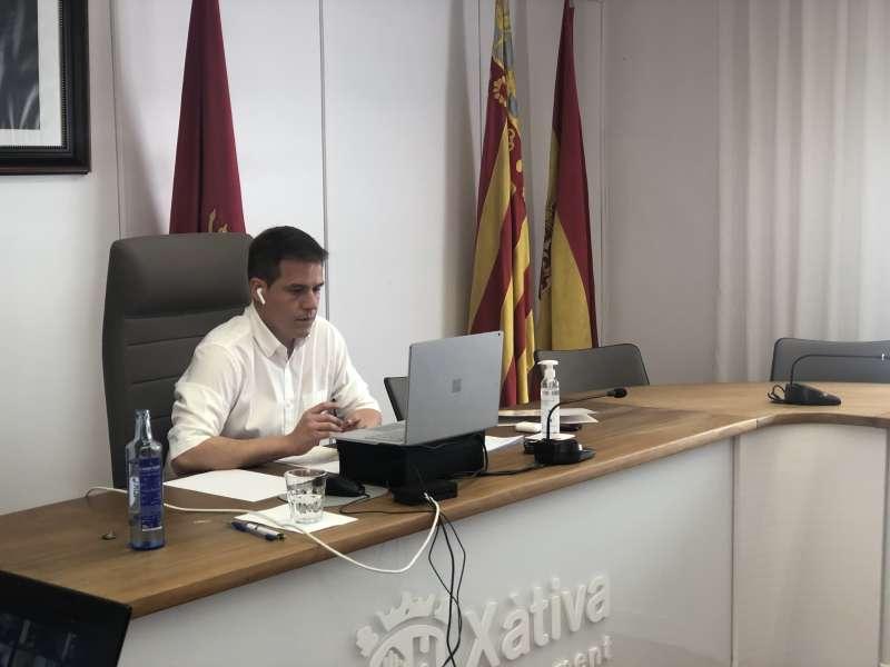 Sesión plenaria Xàtiva./ PDA