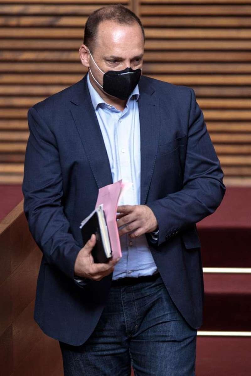 El vicepresidente segundo del Consell y conseller de vivienda y arquitectura bioclimática, Rubén Martínez Dalmau. EFE