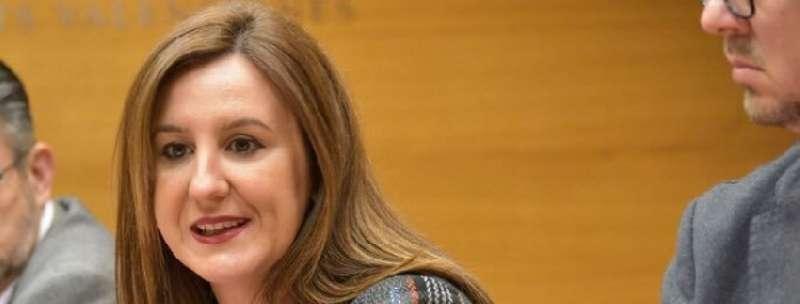 La portavoz adjunta del Grupo Parlamentario Popular en Les Corts, Mª José Català