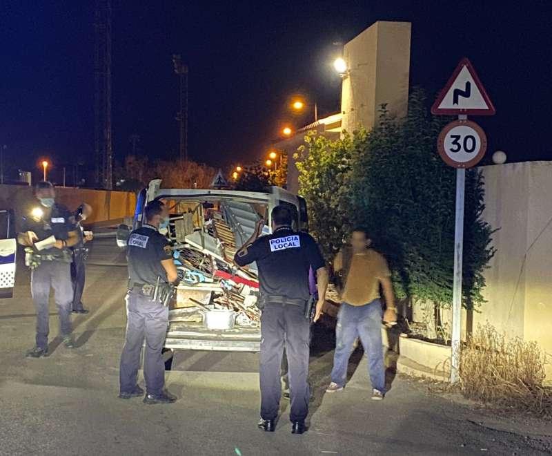 Operació policial a Sueca./EPDA