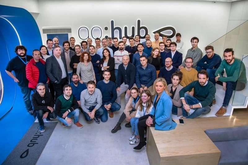 Foto del equipo de GoHub, facilitada por la entidad. EFE