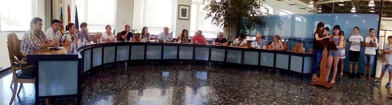 Plenari municipal de Massanassa. EPDA