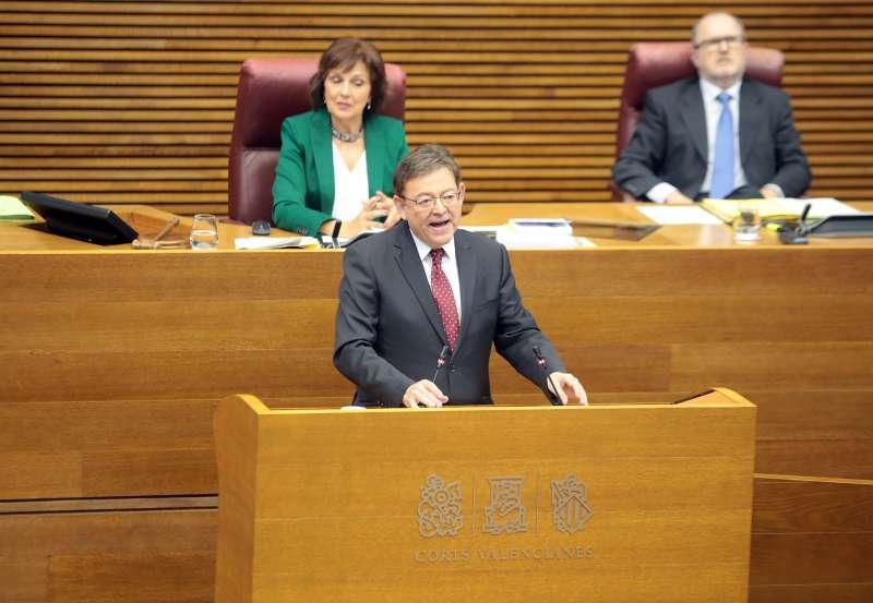 El jefe del Consell en sesión de control.