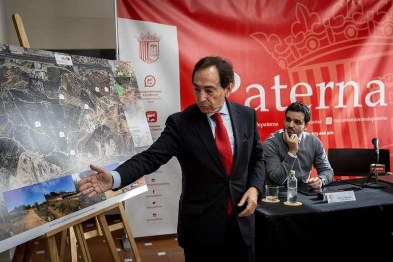 Presentación del proyecto de gran superficie comercial Intu Mediterrani en Paterna. EFE. Biel Aliño.