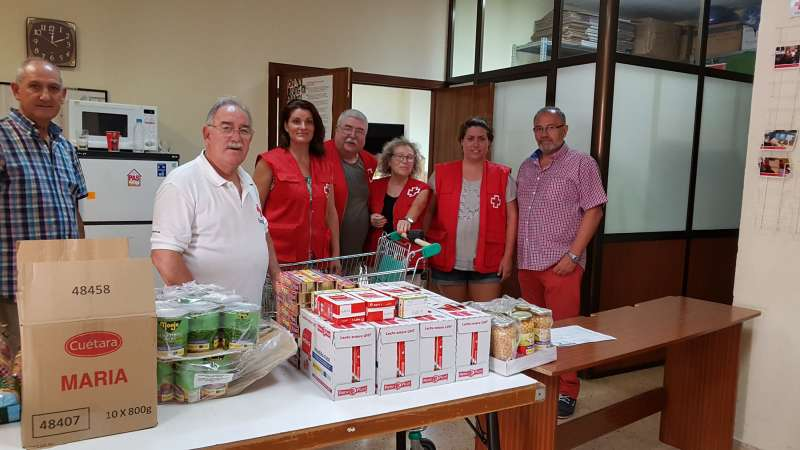 Voluntarios de Cruz Roja de Mislata. EPDA