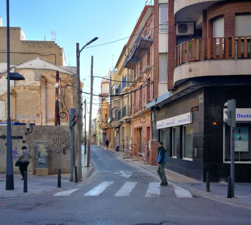 El carrer Nou de Catarroja