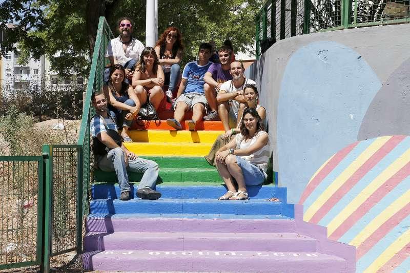 Representants dels col·lectius a Puçol. EPDA