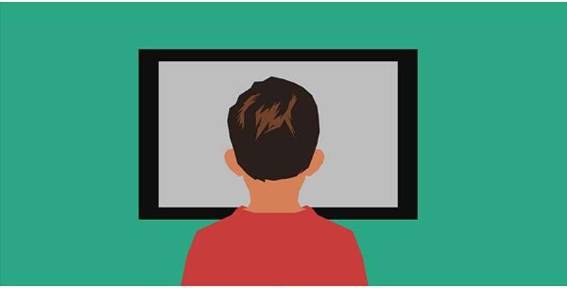 Contenidos para niños. / License: https://pixabay.com/illustrations/art-kids-watching-tv-children-3098165/