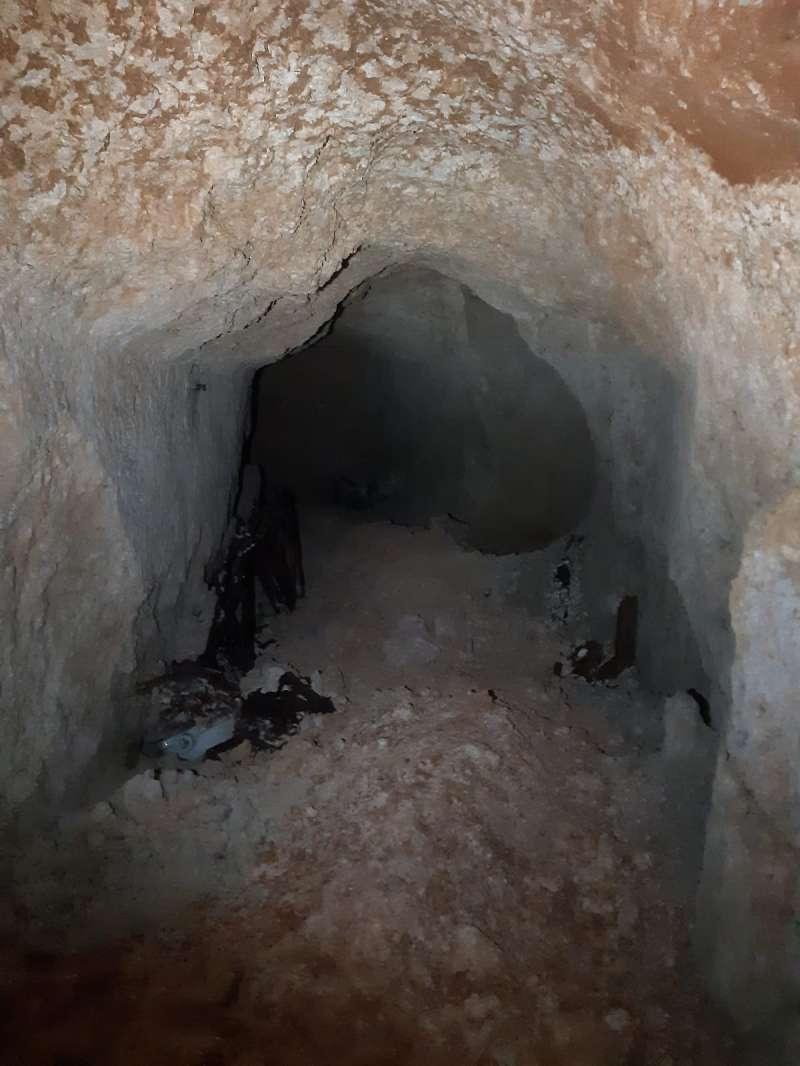 Imagen del refugio antiaéreo Paterna