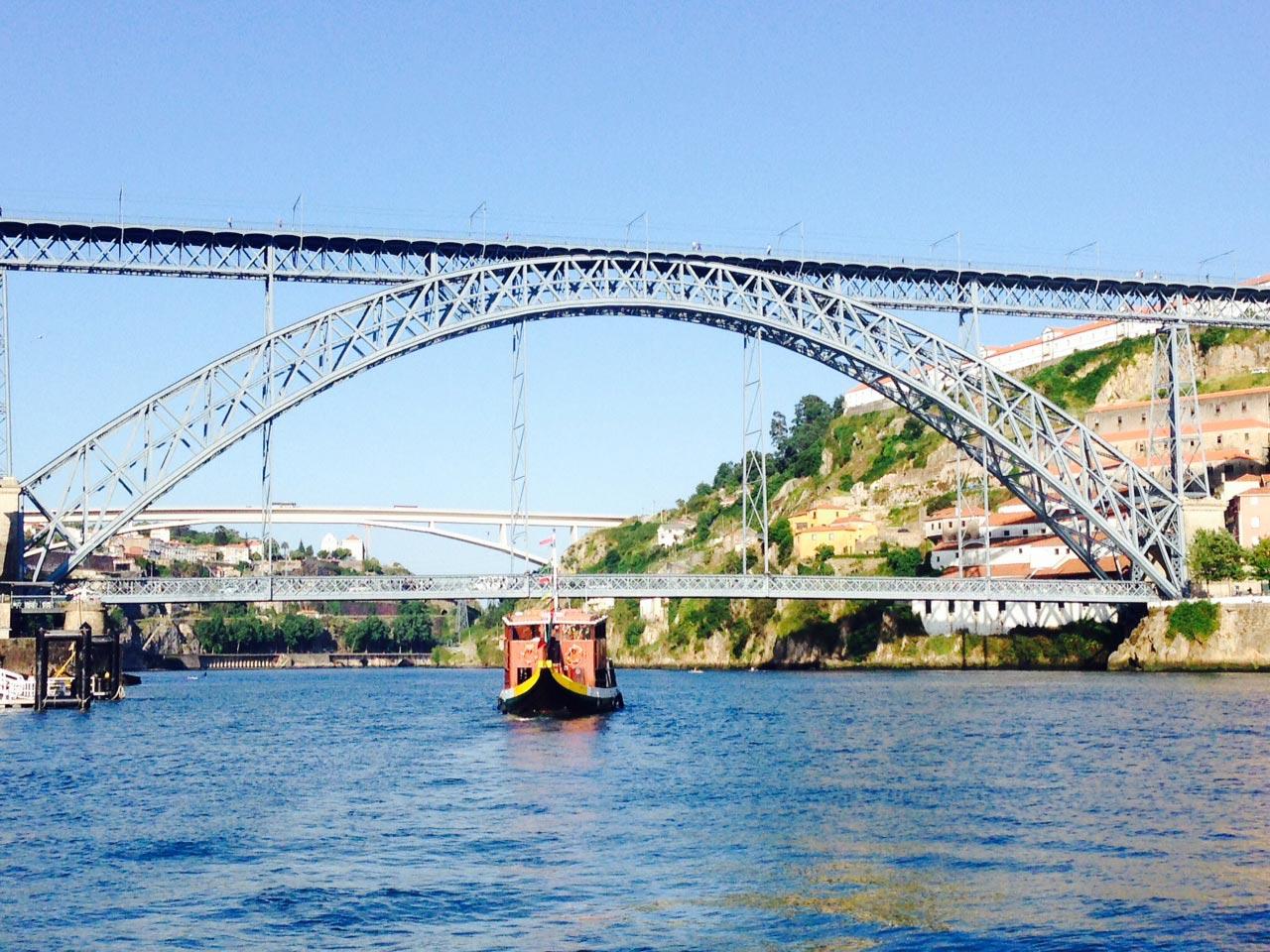 El puente Luis I. FOTO VALENCIANO