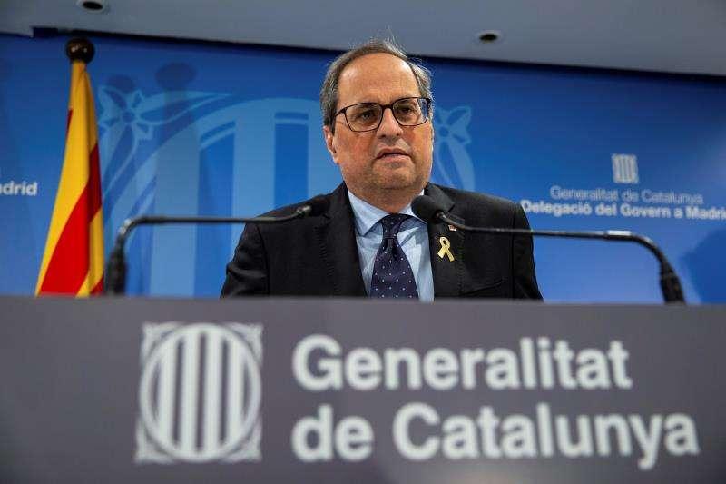 El president de la Generalitat, Quim Torra. EFE/Archivo