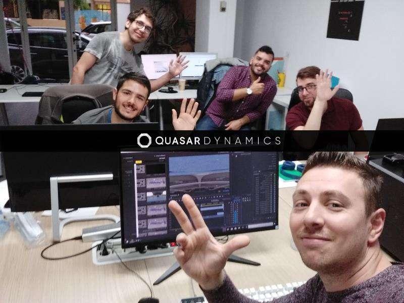 Equipo de Quasar Dynamics, en una imagen de la empresa. EFE