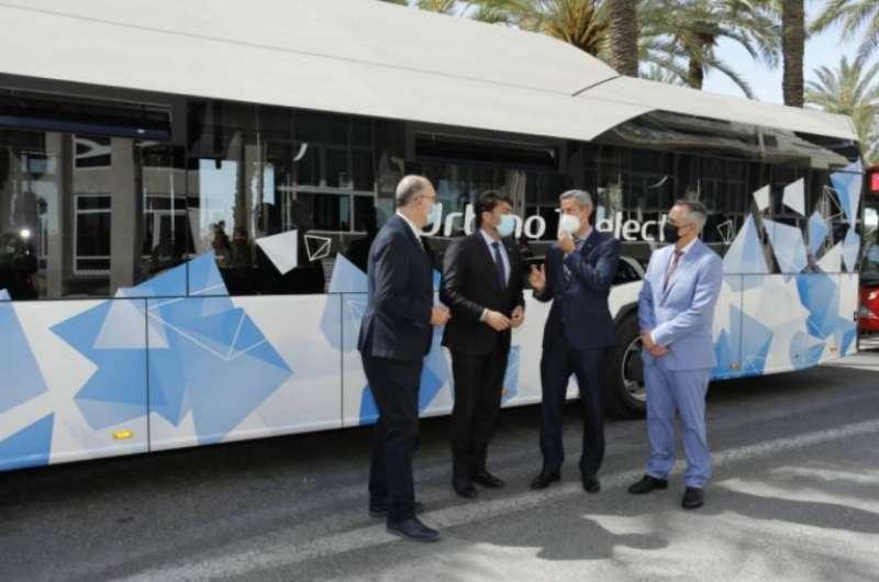 Autobuses electricos. EPDA