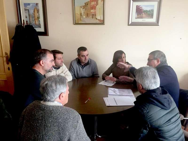 Técnicos de Diputación presentaron la modificación al consistorio