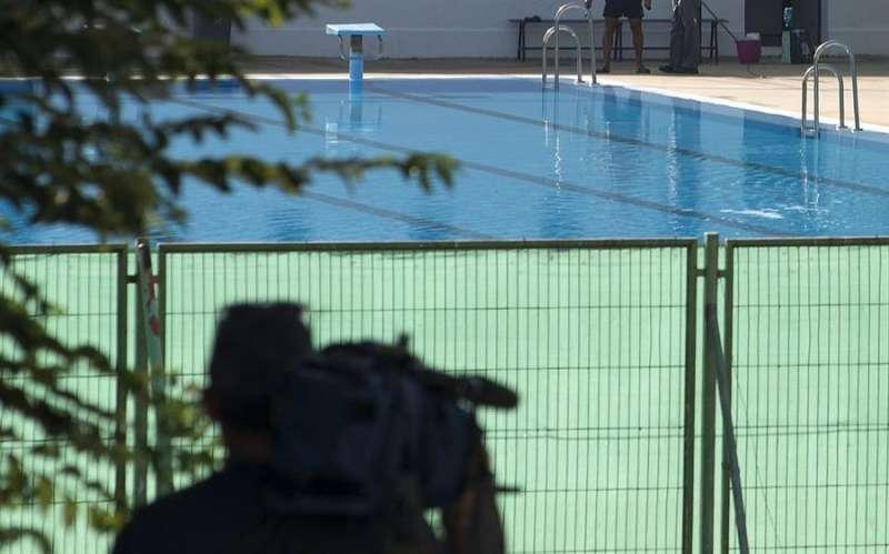 Imagen de una piscina. EFE/Archivo