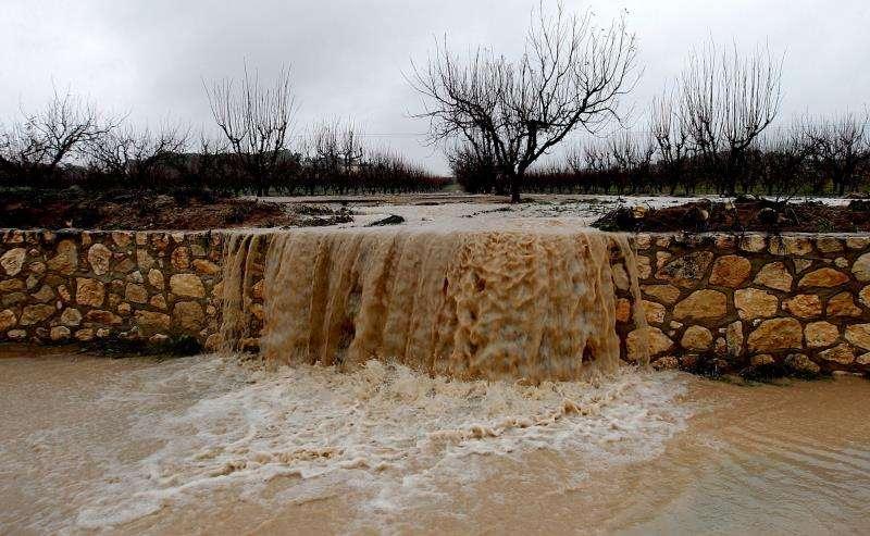 Desbordamiento de un río. EFE/Archivo