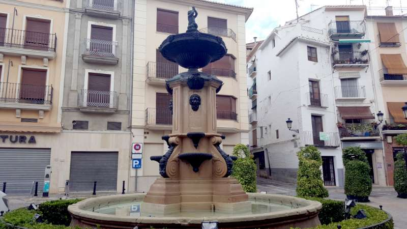 Fuente de la plaza del Agua Limpia