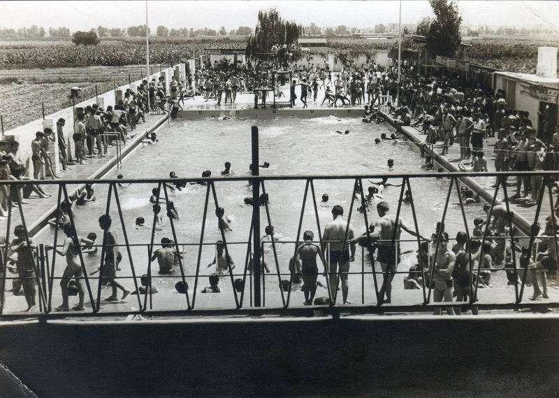 Imatge de la antiga piscina olympia de l