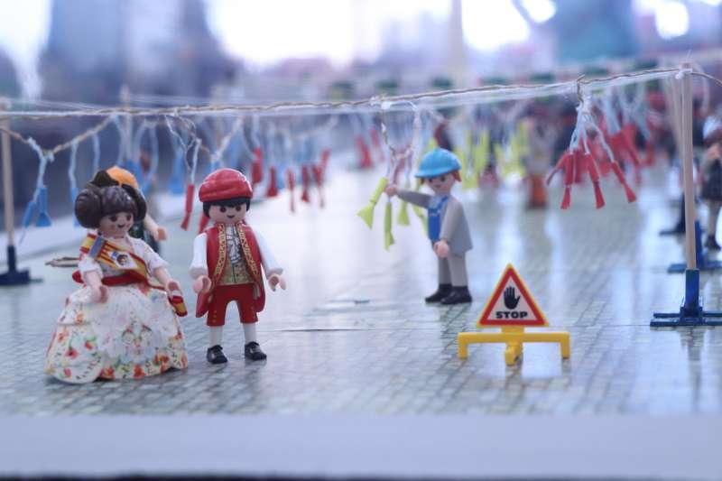Exposición de Playmobil. EPDA