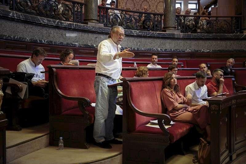 El concejal de Hacienda, Ramón Vilar, en una imagen de archivo. EFE/Biel Aliño/Archivo