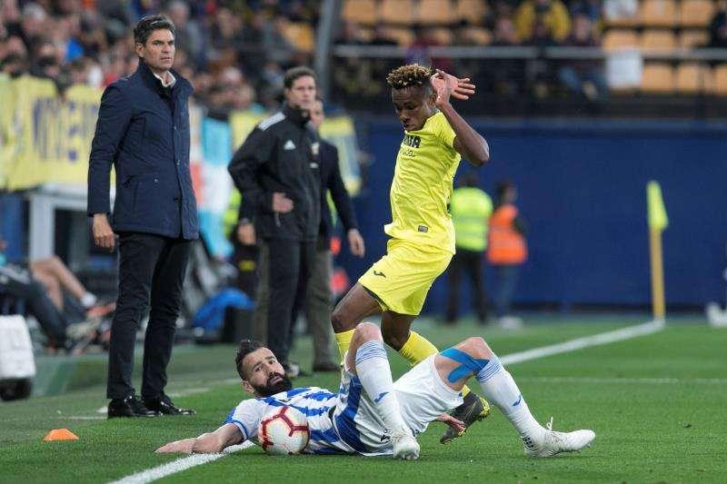 Una jugada del Villarreal. EFE