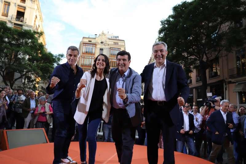 Acto de Ciudadanos en València