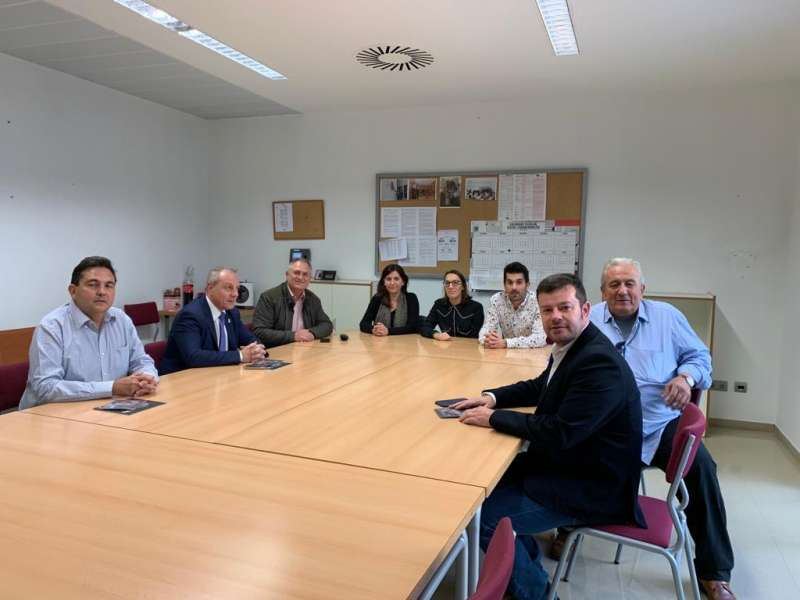 Reunión con presidente Federación Española de Balonmano. EPDA