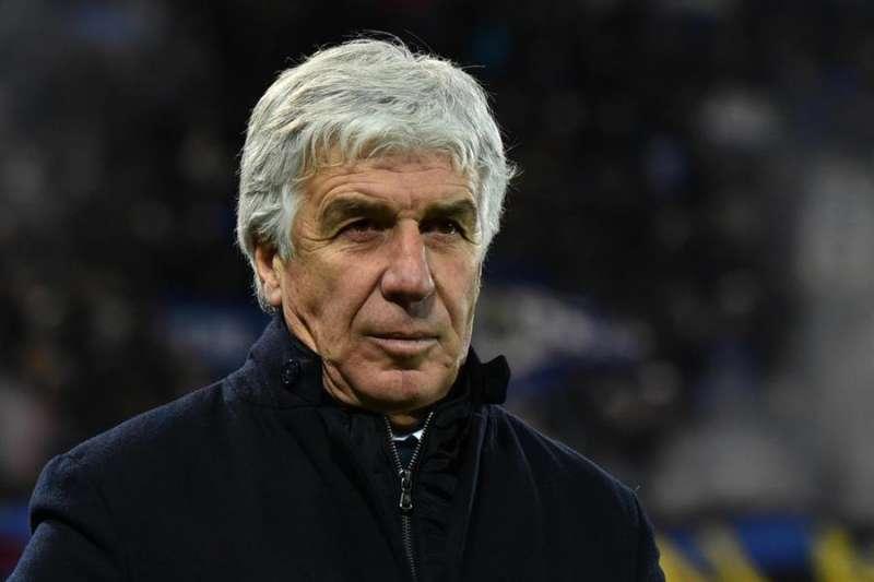 El entrenador Gian Piero Gasperini en un partido del Atalanta. EFE