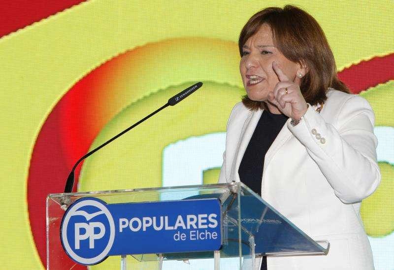 La candidata popular a la Presidencia de la Generalitat, Isabel Bonig. EFE/Archivo