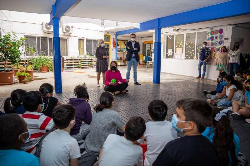 Activiades en un colegio de Mislata. EPDA