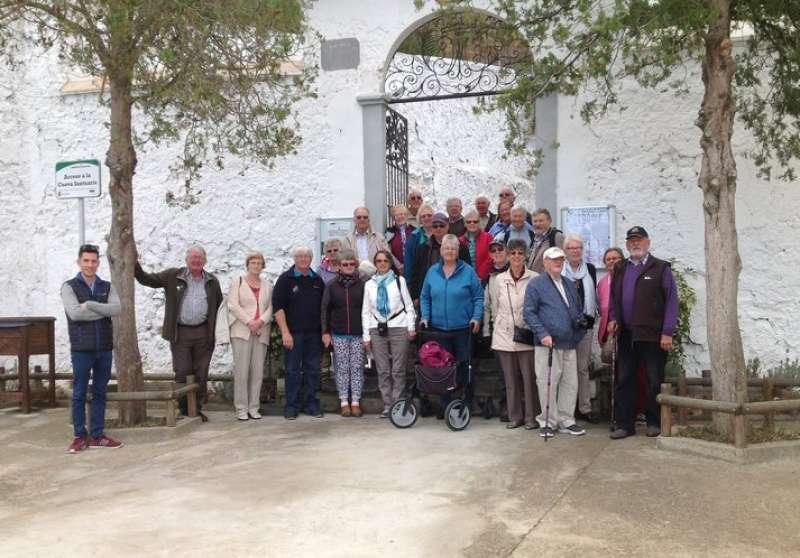 El Santuario es un centro de peregrinación de la Comunidad Valenciana