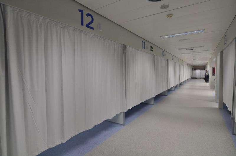 Imagen de, área de Observación de Urgencias del Hospital de Manises. EFE/Hospital Manises