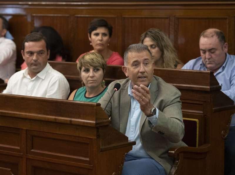 Vicente Sales, portavoz del PP