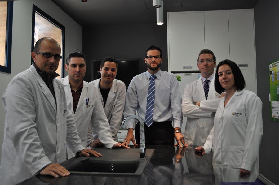 El equipo del departamento Smart Grid. FOTO EPDA