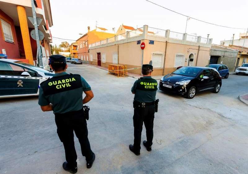 Agentes de la Guardia Civil en una operación.