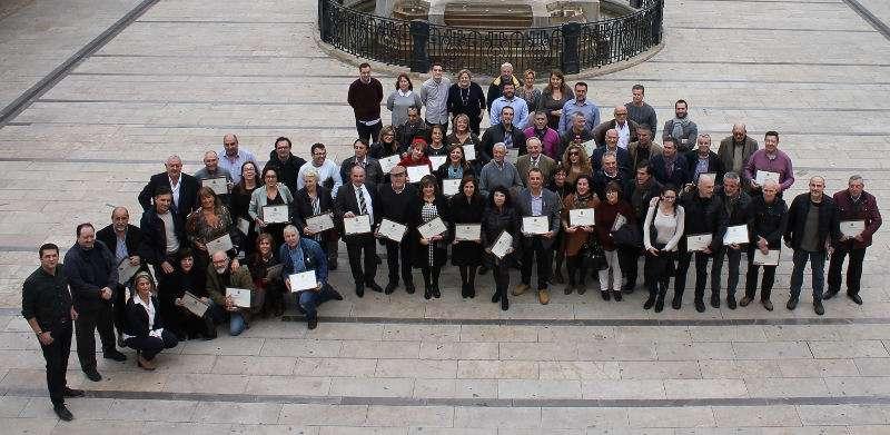Trabajadores del Ayuntamiento de Alfafar. EPDA