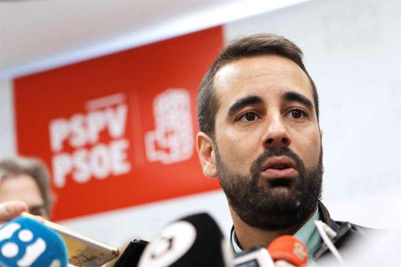 El secretario de Organización del PSPV-PSOE, José Muñoz, en una imagen de archivo. EFE/Ana Escobar